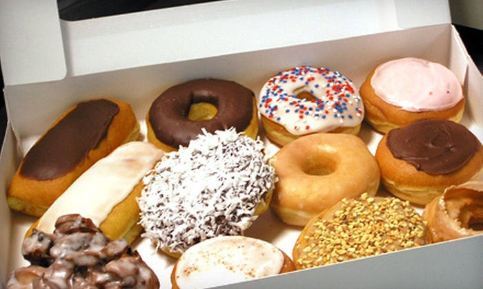 The Doughnut Box - Perrysburg: Two Dozen Donuts or $5 for $10 Worth of Donuts, Sandwiches, and Drinks at The Doughnut Box in Perrysburg