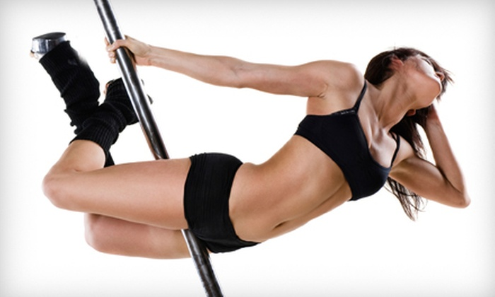 Pole Perfect Fitness - Multiple Locations: Two Introductory or Level-One, -Two, or -Three Pole-Fitness Classes at Pole Perfect Fitness (Up to 59% Off)