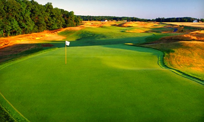 Long Island National Golf Club - Northville: 18 Holes of Golf with Cart, Range Balls, and Lunch Option at Long Island National Golf Club in Riverhead (Up to 59% Off)