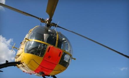 Intrepid Helicopters - Intrepid Helicopters in Ottawa Lake