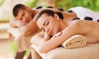 Package complet avec sauna privé durant 1h et un massage du dos aux pierres chaudes en duo à 99 € à linstitut Lei