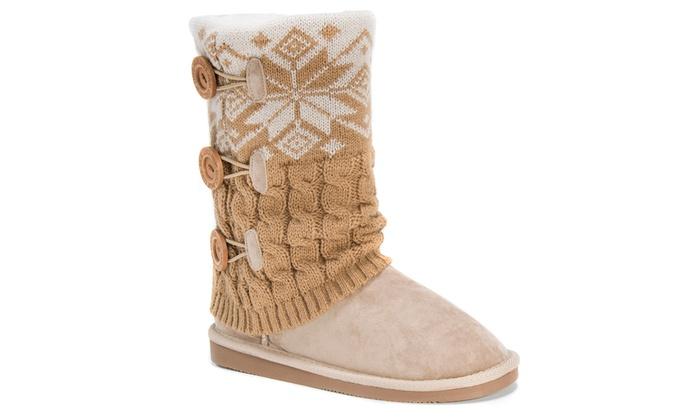 Muk Luks Cheryl Women's Boots (Size 7) | Groupon