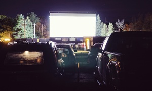 Big Eds Drive In Cinema: Family Drive-In Cinema Entry for One Vehicle with Two Popcorns and Two Drinks at Big Ed's Drive-In Cinema (53% Off)