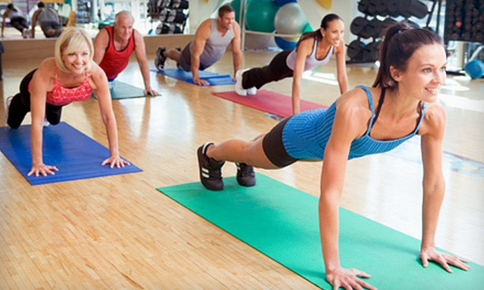 Studio 57 Group Fitness - Lubbock: $10 for Five Classes at Studio 57 Group Fitness ($25 Value)