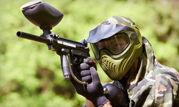 Northwest Paintball Park - Bremerton: $20 for Full Rental Package: All-Day Paintball Admission, Gun, Goggles, Free Air-Refills, and 500 Paintballs at Northwest Paintball Park in Bremerton ($40 Value)