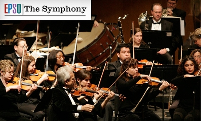 El Paso Symphony Orchestra - Union Plaza: Ticket to El Paso Symphony Orchestra Performance. Choose from Two Dates and Seating Options.