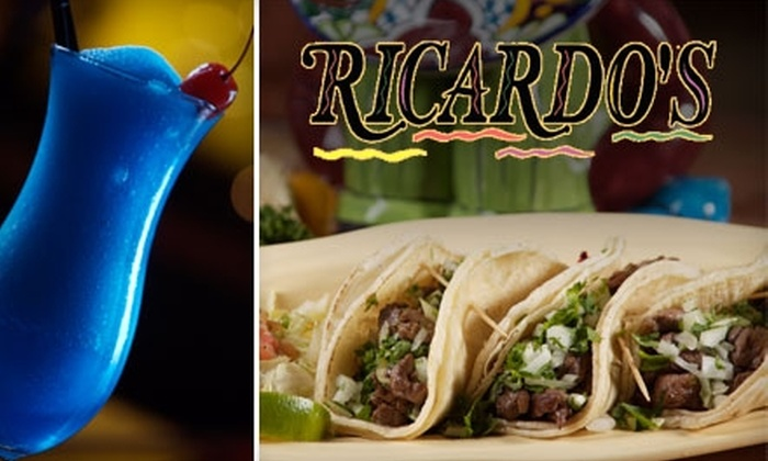 Ricardo's Mexican Restaurant - Spring Valley: $15 for $30 Worth of Authentic Mexican Cuisine and Drinks at Ricardo's Mexican Restaurant