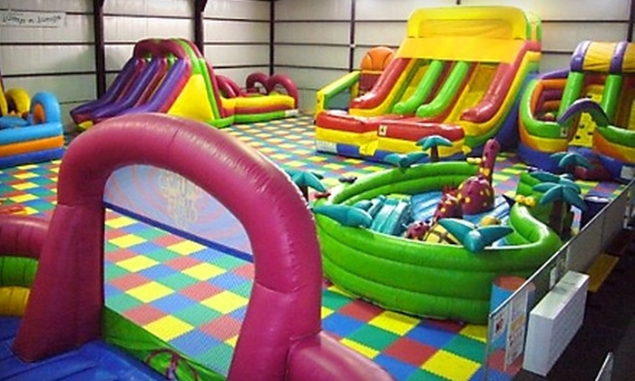Jump N Jungle - Lubbock: $50 for a 20-Jump Summer Pass at Jump N Jungle ($100 Value)
