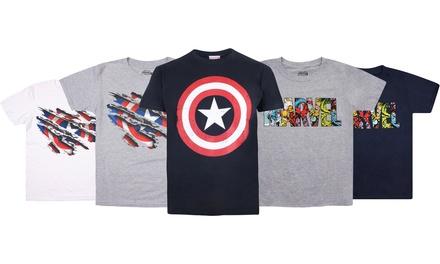 Kids Marvel Logo T-Shirt