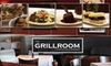 Half Off Chophouse Fare at The Grillroom