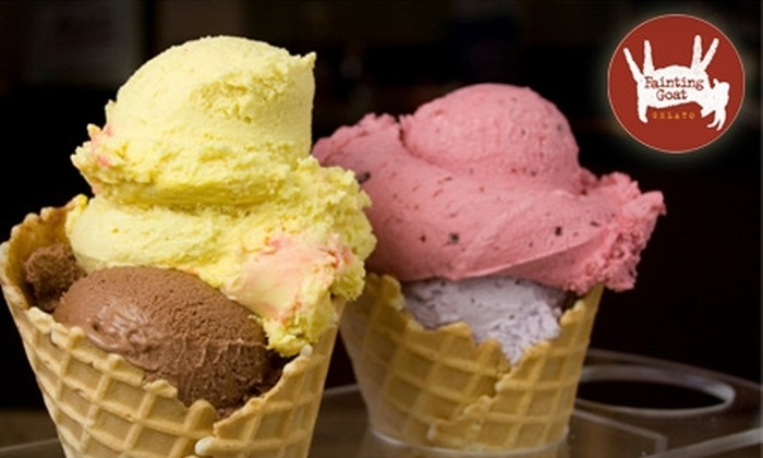 Fainting Goat Gelato - Wallingford: $10 for $20 Worth of Hand-Crafted Gelato at Fainting Goat Gelato
