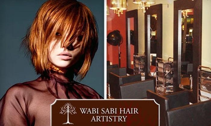 Wabi Sabi Hair Artistry - Central London: $29 for $60 Worth of Services at Wabi Sabi Hair Artistry