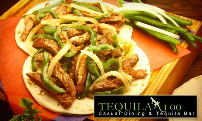Tequila 100 - Gaslamp: $15 for $35 Worth of Mexican Cuisine at Tequila 100