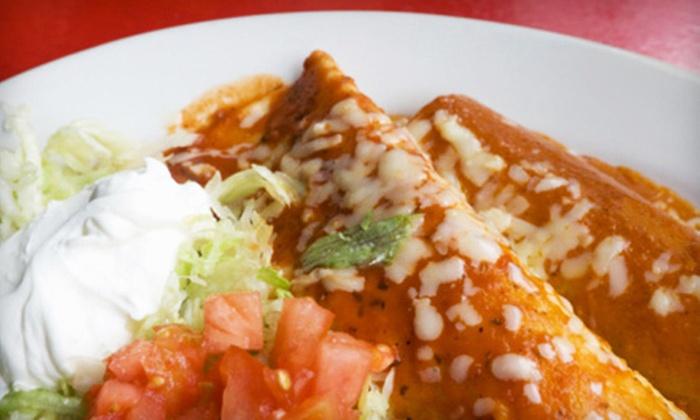 Casa Jimenez - Murrieta: $10 for $20 Worth of Mexican Fare and Drinks at Casa Jimenez in Murrieta