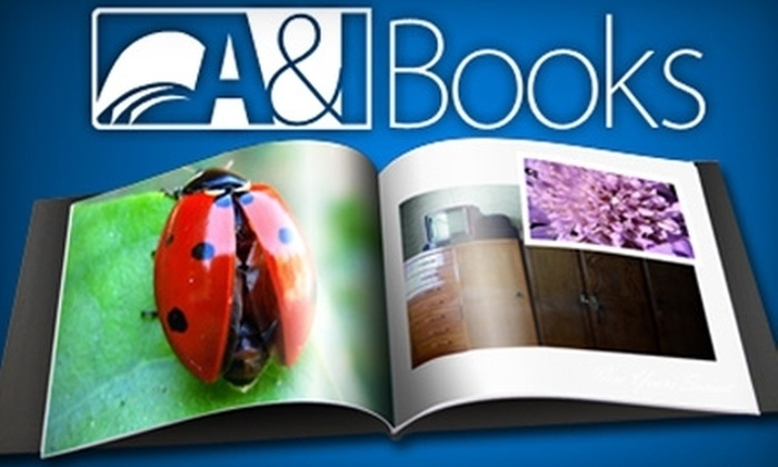 A&I Books : $10 for an 8x8 Soft Cover Photobook up to 40 pages from A&I Books! ($30 value)