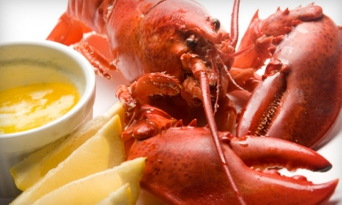 The Rum Runner Inn & Restaurant - Lunenburg: $15 for $30 Worth of Fresh Seafood and More at The Rum Runner Inn & Restaurant in Lunenburg