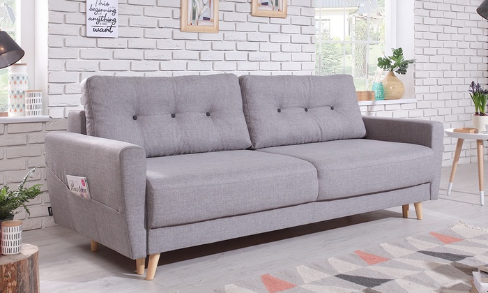 Super Canapé scandinave Bobochic Oslo | Groupon CO68