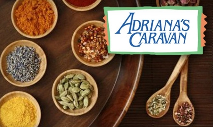 Adriana's Caravan - Oklahoma City: $10 for $20 Worth of Spices, Hot Sauces, and More from Adriana's Caravan