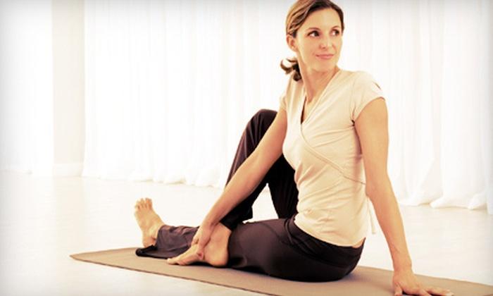 Studio Om - Downtown Pataskala: 10 Yoga Classes or One Month of Unlimited Yoga Classes at Studio Om (Up to 55% Off)