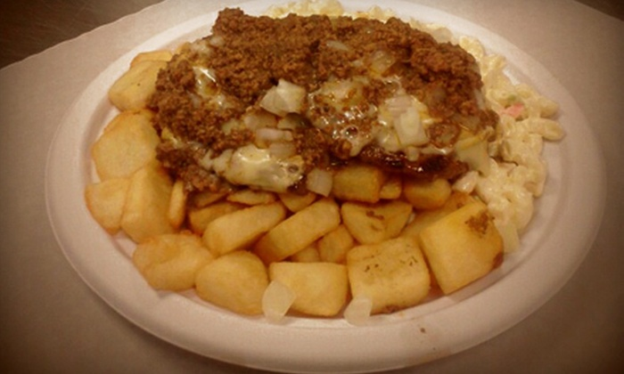 Nick Tahou Hots - Upper Monroe: $7 for $15 Worth of Garbage Plates and Diner Fare at Nick Tahou Hots in Henrietta