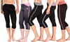 Women's Dri-Fit Capri Leggings (2-Pack): Women's Dri-Fit Capri Leggings (2-Pack)