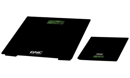 GNC Healthy Balance Digital Bathroom and Kitchen Scale Set