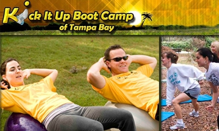 Kick It Up Boot Camp - Tampa Bay Area: $35 for Four Weeks of Boot-Camp Classes at Kick It Up Boot Camp (Up to $299 Value)