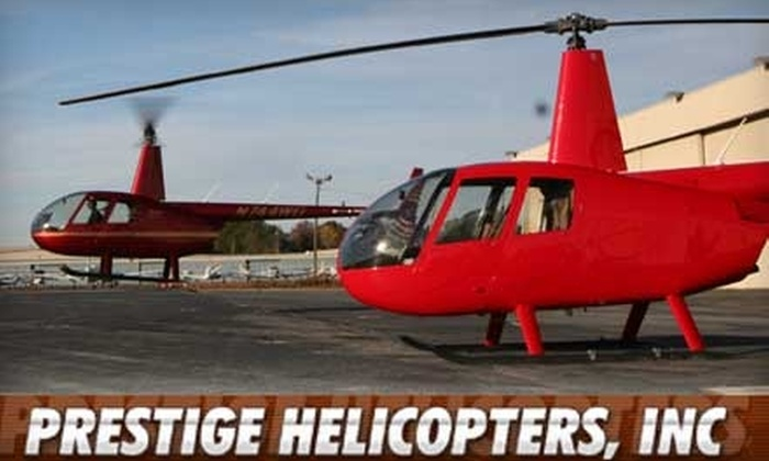 Prestige Helicopters, Inc. - Chamblee: Choice of Three-Person Ride Anywhere or Two-Person Downtown Tour from Prestige Helicopters, Inc.
