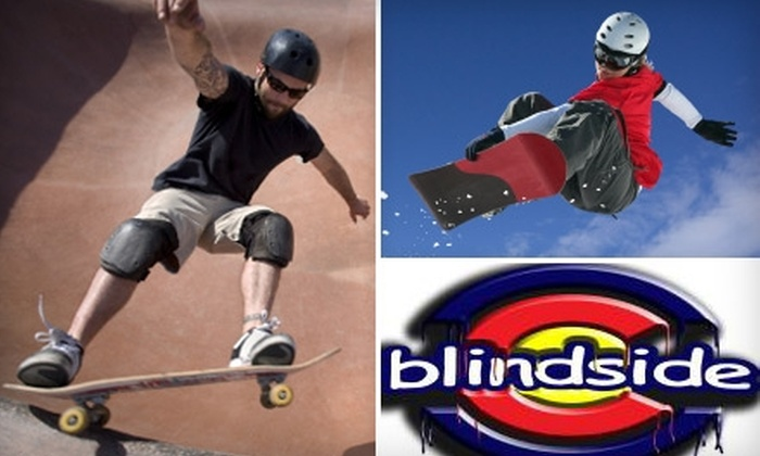 Blindside - Old Colorado City: $15 for $30 Worth of Gear, Apparel, Rentals, or Tune-Ups at Blindside