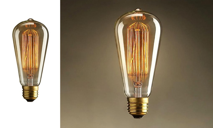 Trend Matters Antique-Inspired Light Bulb (1-, 2-, or 4-Pack)