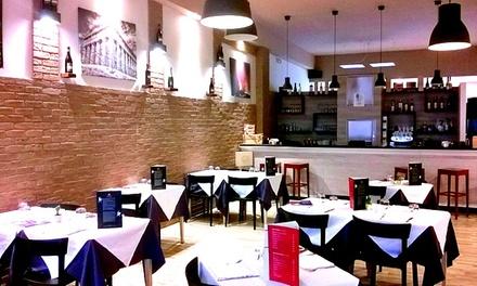 Menu Sicily gourmet con Prosecco