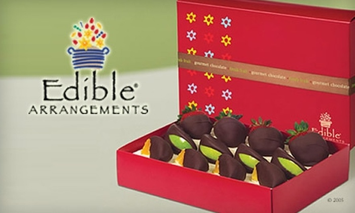 Edible Arrangements - West Chester: Fresh-Fruit Bouquets or One Box of Chocolate-Dipped Fruit from Edible Arrangements in West Chester. Choose Between Two Options.