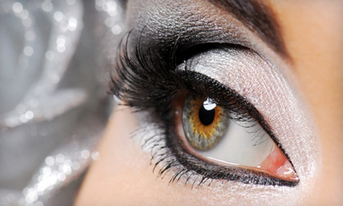 Camp Cosmetics - Glen Ellyn: Three or Six Applications of Faux Lashes at Camp Cosmetics in Glen Ellyn (Up to 62% Off)
