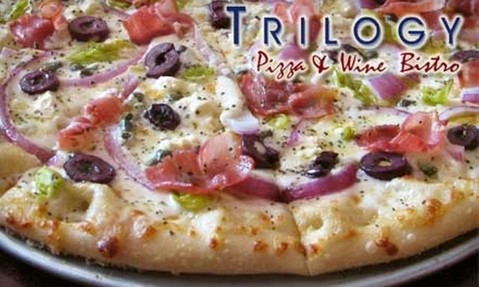 Trilogy Pizza & Wine Bistro - Stone Oak: $10 for $20 Worth of Italian Fare at Trilogy Pizza & Wine Bistro