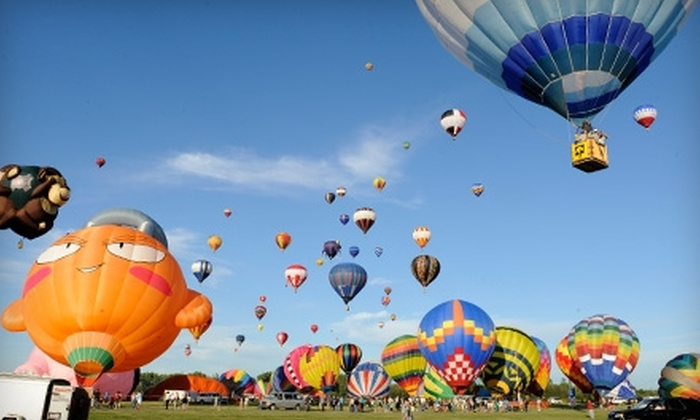 Montgolfières International Balloon and Music Festival - Municipal Airport: One-Day Pass for Individual or Group to International Balloon Festival of Saint-Jean-sur-Richelieu Featuring Ke$ha, Sean Paul, Pitbull, and Others