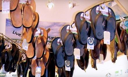 $30 Groupon to Flip Flop Shops - Flip Flop Shops in Kelowna