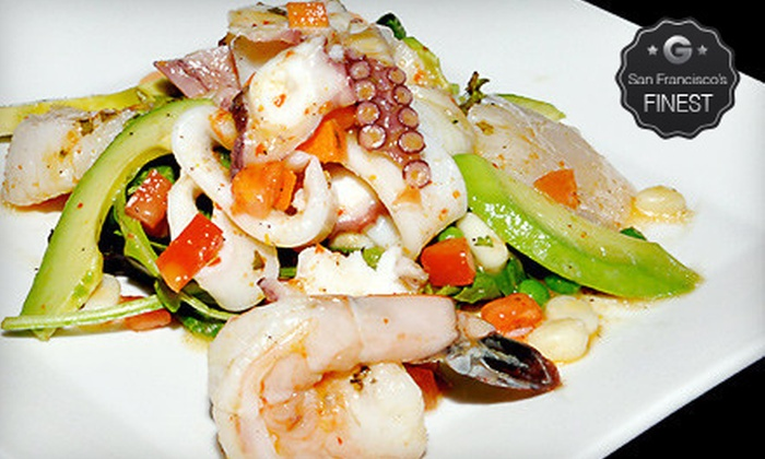 La Costanera - Montara Beach: $25 for $50 Worth of Peruvian Cuisine and Drinks at La Costanera
