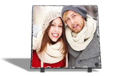 1 photo sur ardoise format 20x15cm, 20x20cm ou 30x30cm sur Printerpix dès 9,95 €