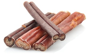 6 bully stick pet treats 25 pack groupon. Black Bedroom Furniture Sets. Home Design Ideas