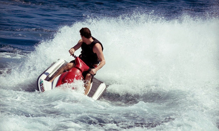 Rick's Rent-A-Boat - Bayfront: One-Hour, Two-Hour, or Full-Day Jet-Ski Rental from Rick's Rent-A-Boat in Chula Vista (Up to 66% Off)