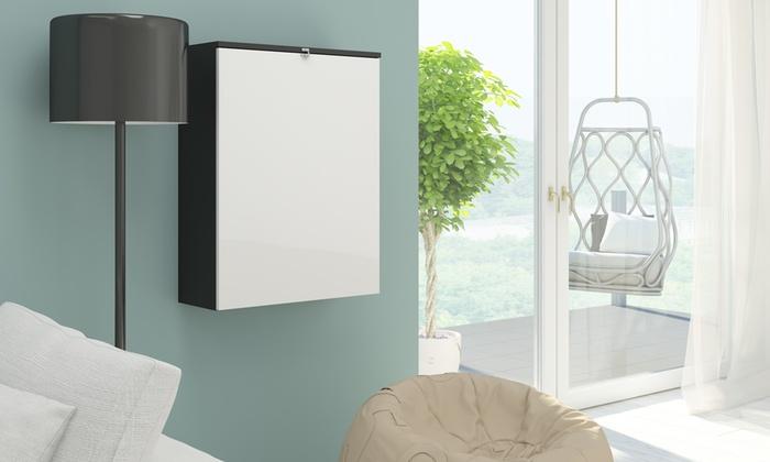 selsey function foldable desk groupon goods. Black Bedroom Furniture Sets. Home Design Ideas