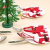 Santa Claus Cutlery Holder Socks