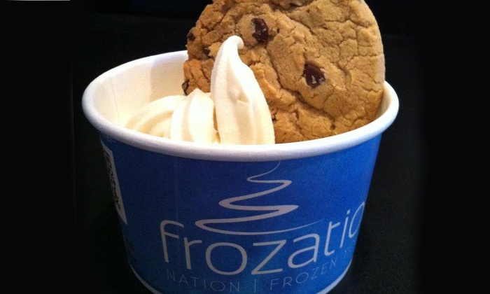 Frozation Nation Frozen Yogurt - Salem: $18 for Three Groupons, Each Good for $10 Worth of Fro-Yo at Frozation Nation Frozen Yogurt ($30 Value)