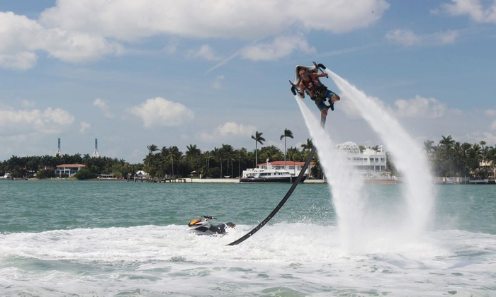 Rocketman - Fort Lauderdale : 30-Minute Jetpack Ride from Rocketman (44% Off). Two Options Available.
