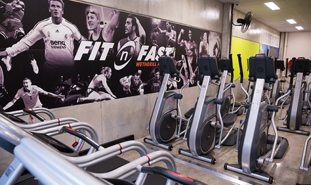 FourWeek Gym Access $19 Plus QMAX High Intensity Classes $29 at Fit n Fast Gyms, 18 Locations Up to $154 Value