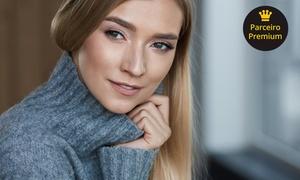 Clinic Spa & Hair: Laser para clarear olheiras + máscara clareadora + escaneamento facial eletrônico na Clinic Spa & Hair – República