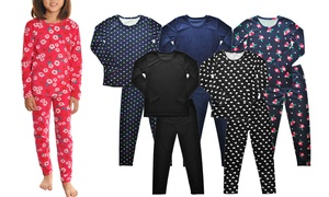 Kids Assorted-Pattern Top and Bottom Set (3-Pack)