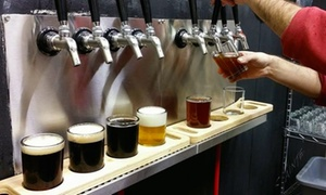 Cole Street Brewing: Beer Flights for Two or Four with Take-Home Growlers at Cole Street Brewing (Up to 43% Off)