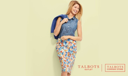 $20 Off Every $100 Purchase at Talbots Outlet Stores