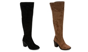 Eva & Zoe Women's Gabriella Over-The-Knee Boots